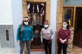 Fallas y Día de la Mujer en la vivienda tutelada Xàbia Bella