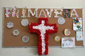 Cruz de mayo en Jardines del Parterre