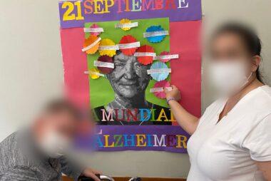 Día Mundial del Alzheimer en Jardines del Parterre